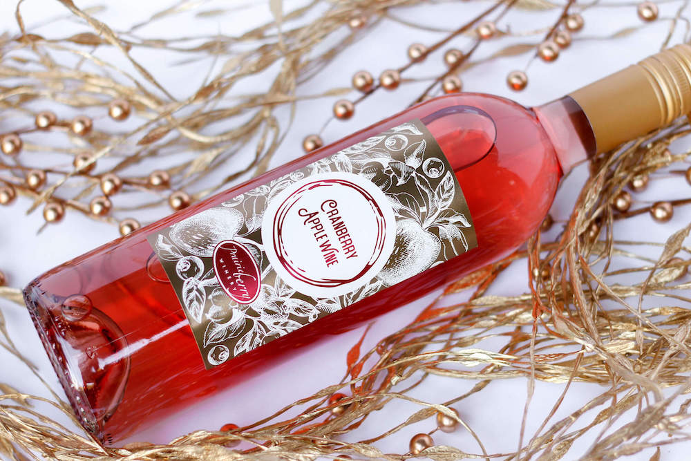 Cranberry Apple wine by Prairie Berry Winery was made with the holidays in mind.